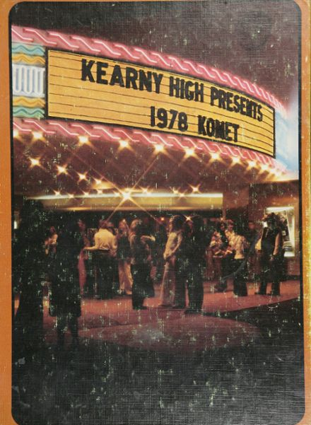 1978 Kearny High School Yearbook Cover