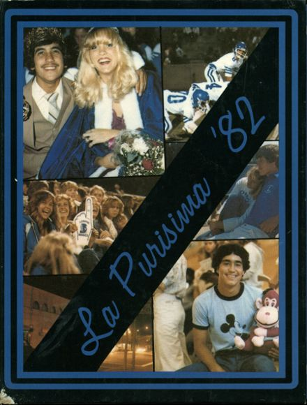 1982 Lompoc High School Yearbook Cover