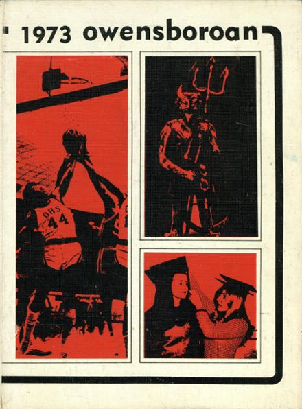1973 Owensboro High School Yearbook Cover