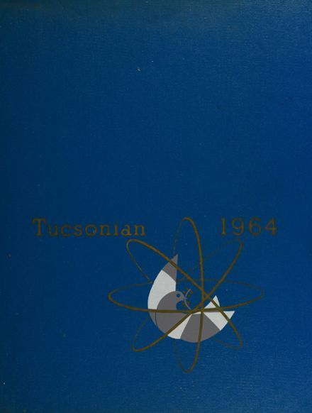 1964 Tucson High School Yearbook Cover