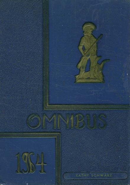 1964 Colonial Heights High School Yearbook Cover