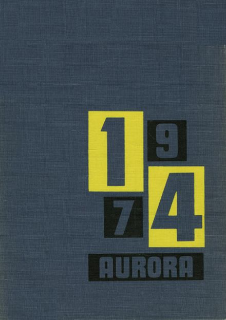 1974 Warren Western Reserve High School Yearbook Cover