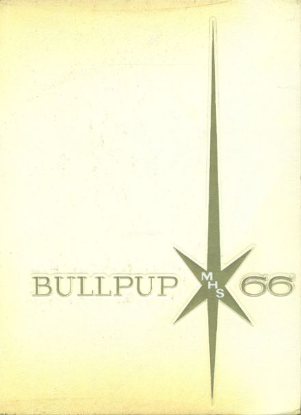 1966 Mcpherson High School Yearbook Cover