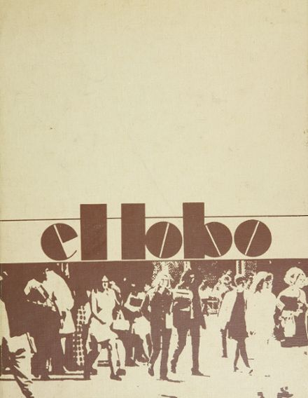 1971 Chandler High School Yearbook Cover