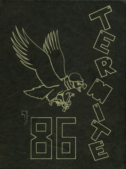 1986 Crossett High School Yearbook Cover