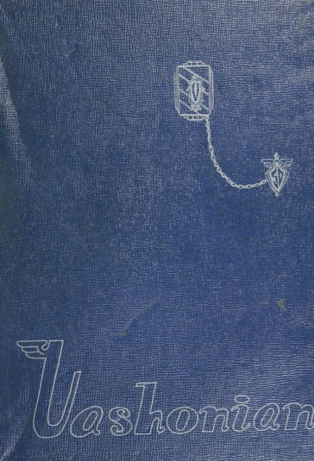 1950 Vashon High School Yearbook Cover