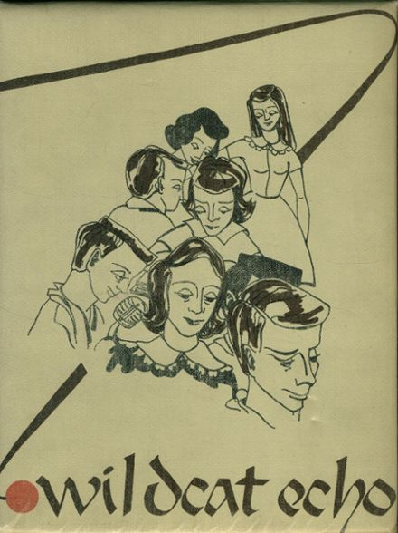 1954 Las Vegas High School Yearbook Cover
