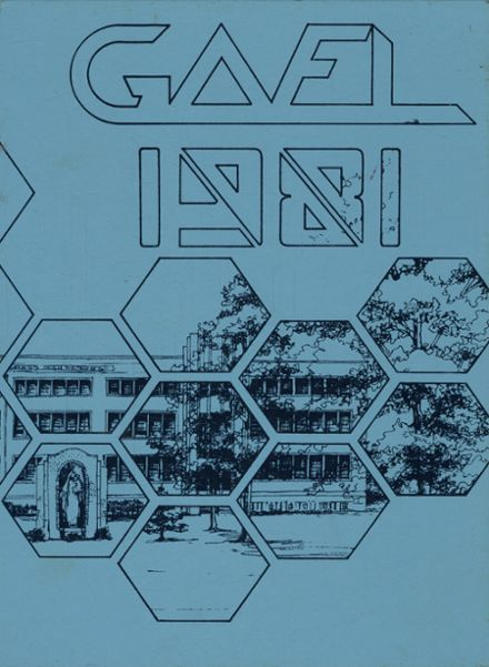 1981 St. Mary's High School Yearbook Cover