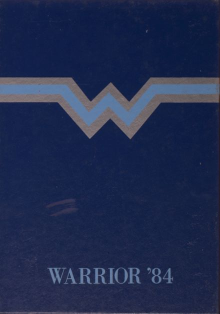 1984 Glenpool High School Yearbook Cover