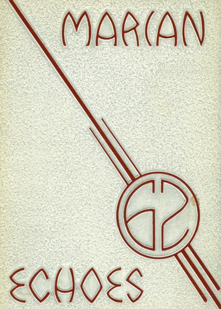 1962 St. Mary's Institute School Yearbook Cover