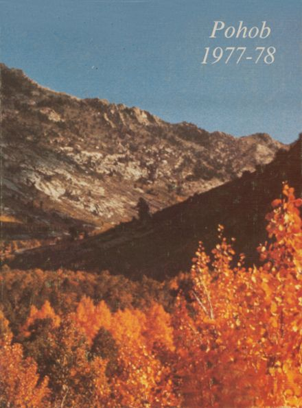 1978 Elko High School Yearbook Cover