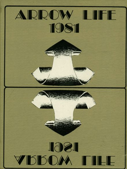 1981 Broken Arrow High School Yearbook Cover