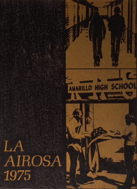 1975 Amarillo High School Yearbook Cover