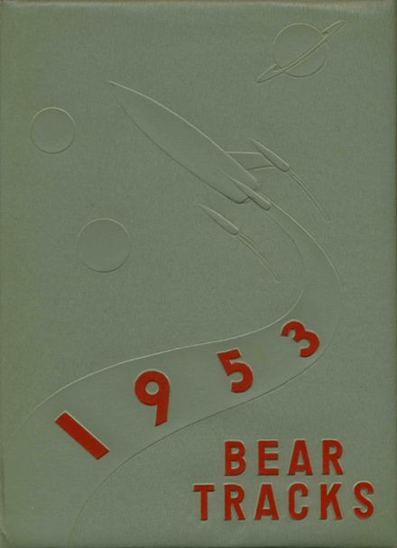 1953 Moscow High School Yearbook Cover