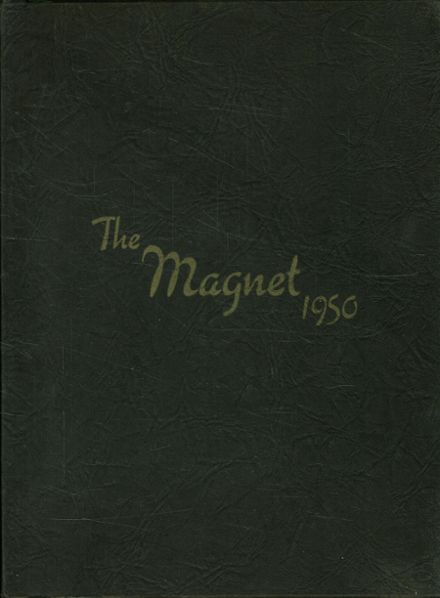 1950 Butler High School Yearbook Cover
