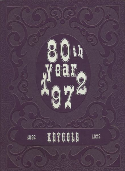 1972 Ben Davis High School Yearbook Cover