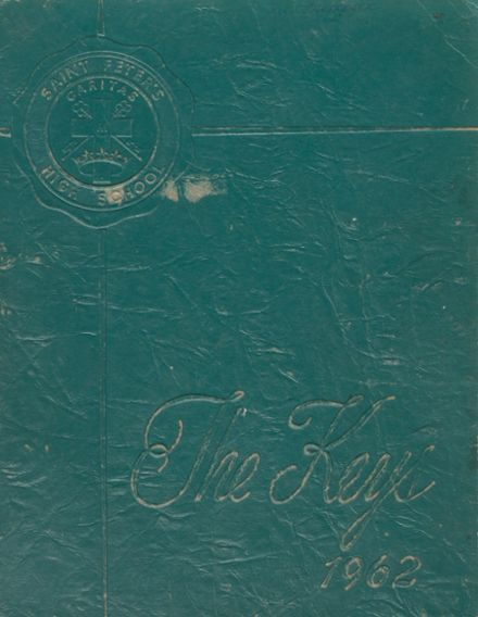 1962 St. Peter's Girls High School Yearbook Cover
