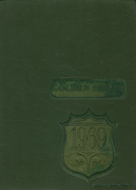 1969 Moody High School Yearbook Cover