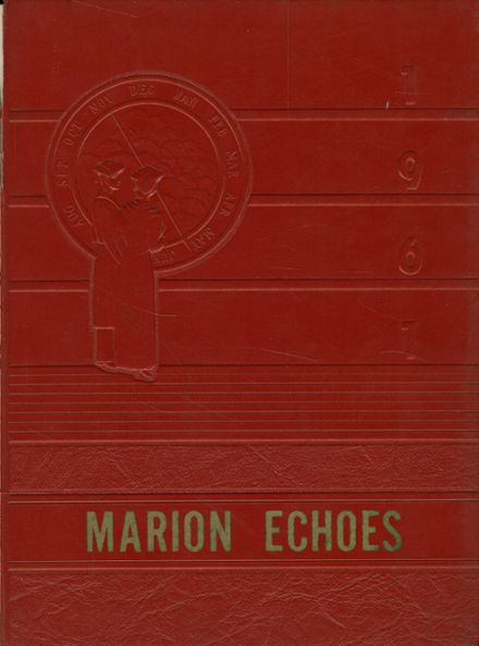 1961 Marion High School Yearbook Cover