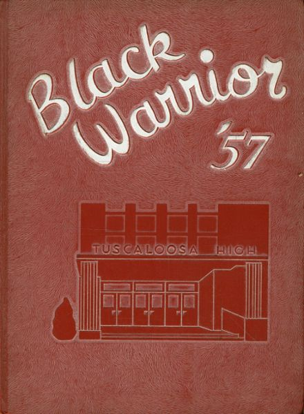 1957 Tuscaloosa High School Yearbook Cover