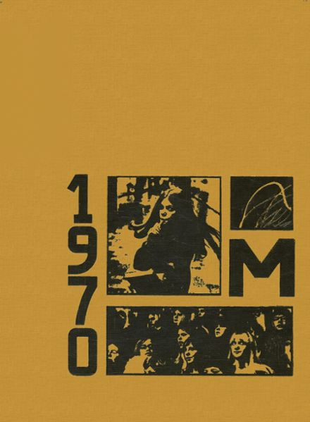 1970 Moline High School Yearbook Cover