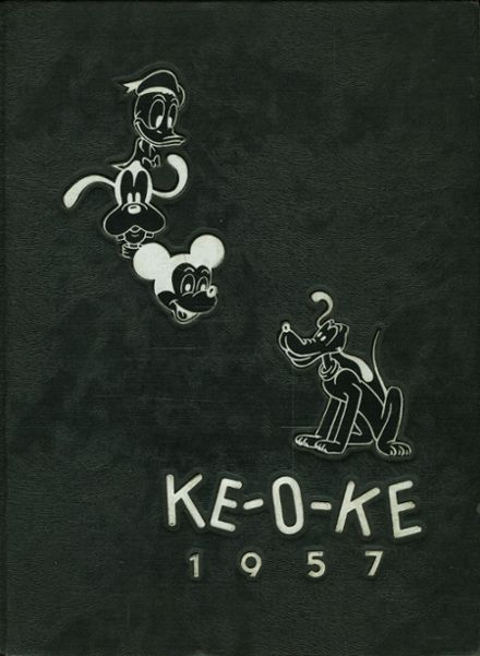 1957 O'Keefe High School Yearbook Cover