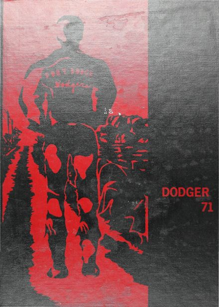 1971 Ft. Dodge High School Yearbook Cover