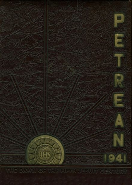 1941 St. Peter's Preparatory School Yearbook Cover