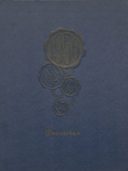 1950 Beaver River Central High School Yearbook Cover