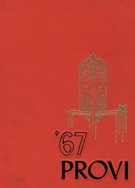 1967 Proviso East High School Yearbook Cover
