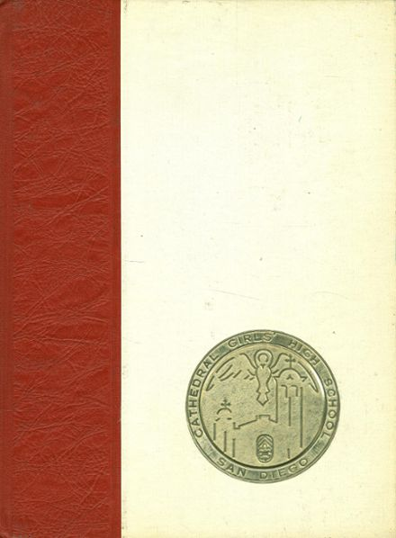 1966 Cathedral Girls' High School Yearbook Cover