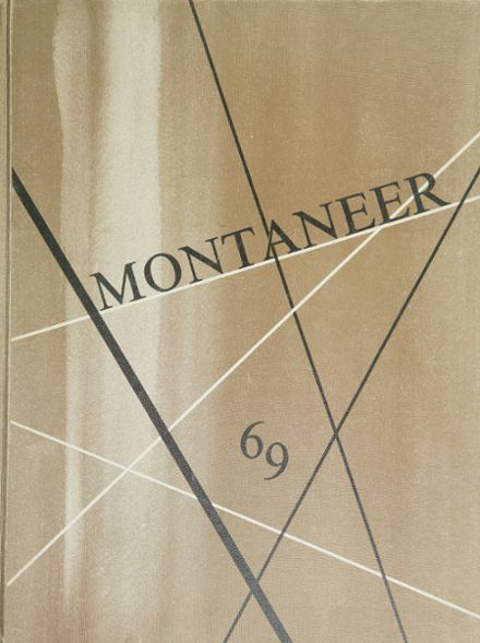 1969 Mt. Pleasant High School Yearbook Cover