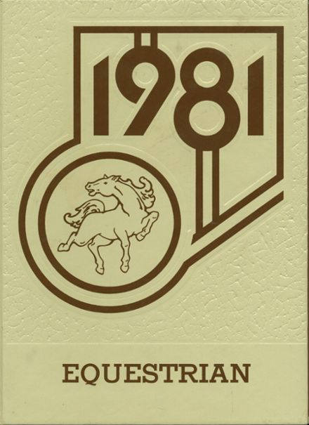 1981 Claymont High School Yearbook Cover