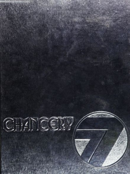 1977 Chatsworth High School Yearbook Cover