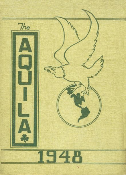 1948 St. John's Academy Yearbook Cover