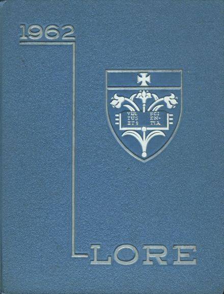 1962 Our Lady of Mercy High School Yearbook Cover