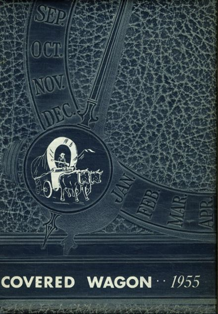 1955 O'Neill High School Yearbook Cover