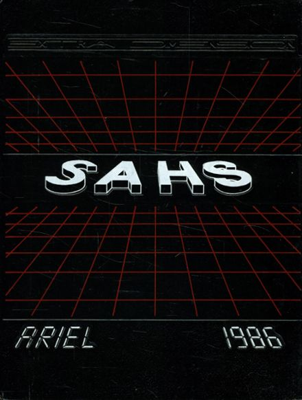 1986 Santa Ana High School Yearbook Cover