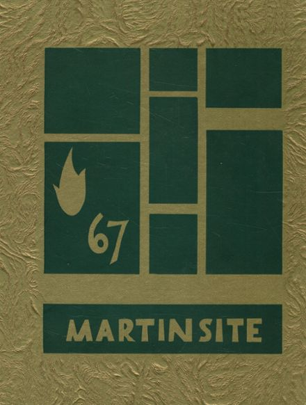 1967 St. Martin's Academy Yearbook Cover