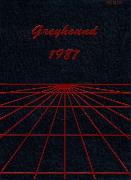 1987 Grove City High School Yearbook Cover