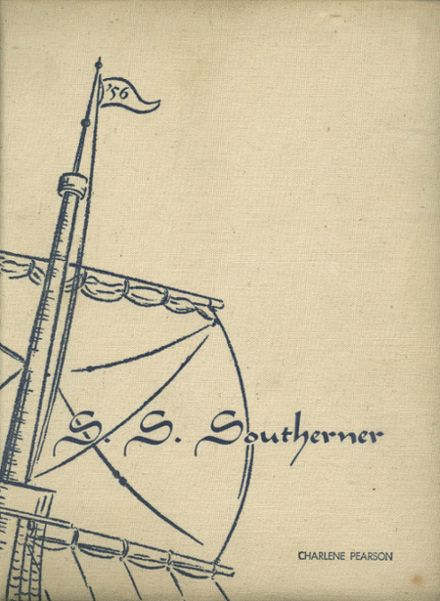 1956 South High School Yearbook Cover