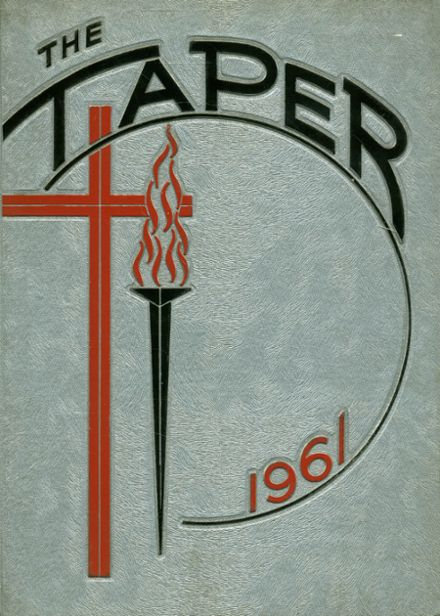 1961 St. Augustine High School Yearbook Cover