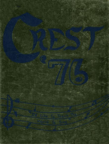 1976 St. John's High School Yearbook Cover