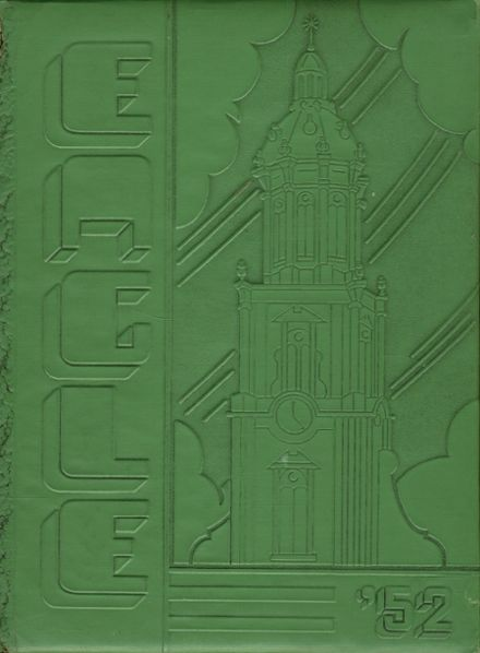 1952 St. John's Cathedral High School Yearbook Cover