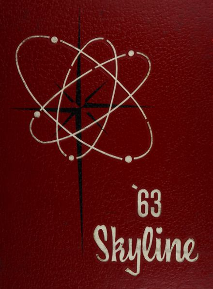 1963 United Township High School Yearbook Cover