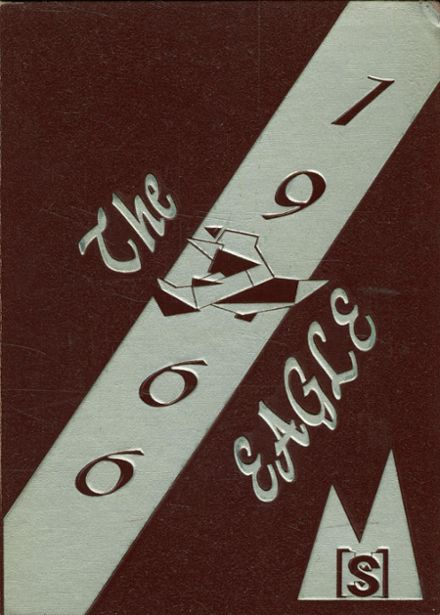 1966 Mission High School Yearbook Cover