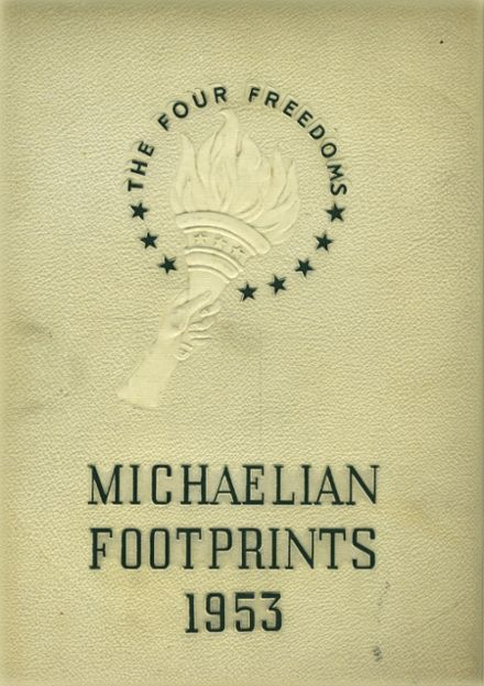 1953 St. Michael's High School Yearbook Cover