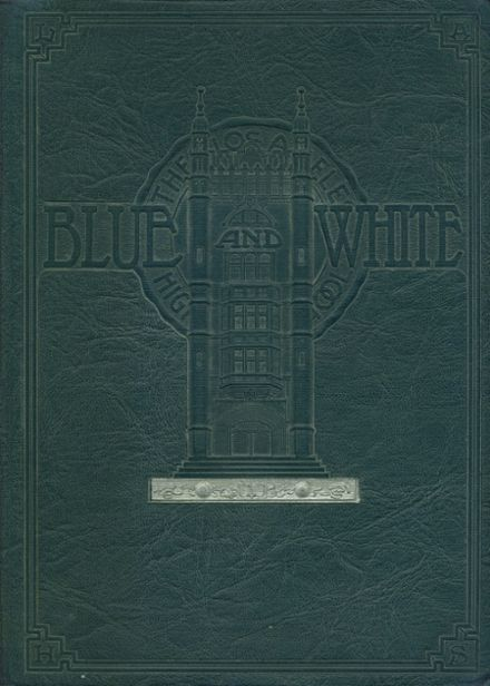 1927 Los Angeles High School Yearbook Cover