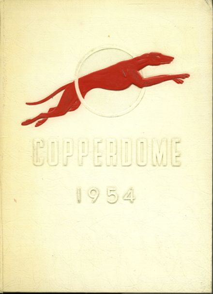 1954 Shorewood High School Yearbook Cover