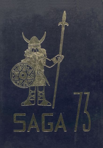 1973 Bryan High School Yearbook Cover